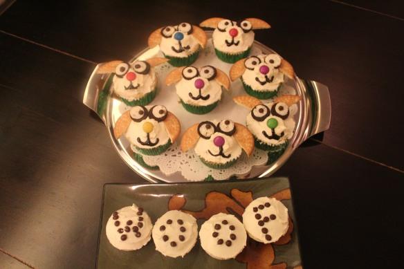 Bonkers cupcakes