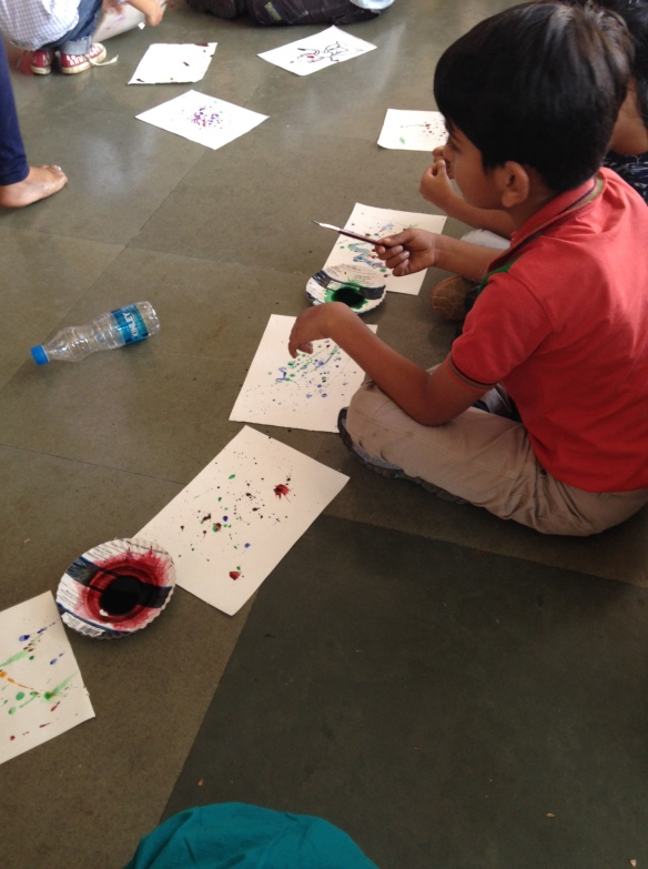 Ink, splotches and monsters with Tanvi Bhat!